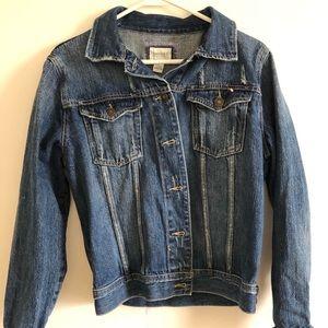 Blue denim Forever 21 jacket